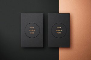 free embossed business cards mockup psd 690x455 c default