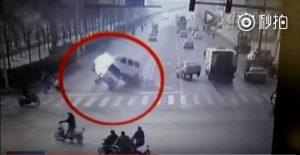 3 Mobil Melayang Secara Misterius Di China