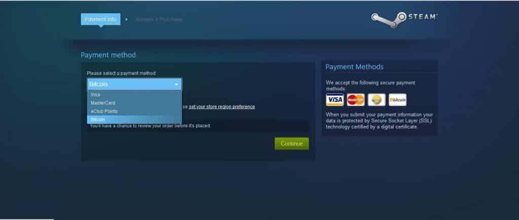 Beli Game Di Steam Sekarang Bisa Pakai Bitcoin