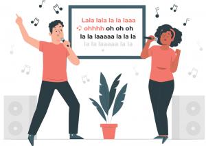 Menampilkan Lirik Lagu Di Laptop