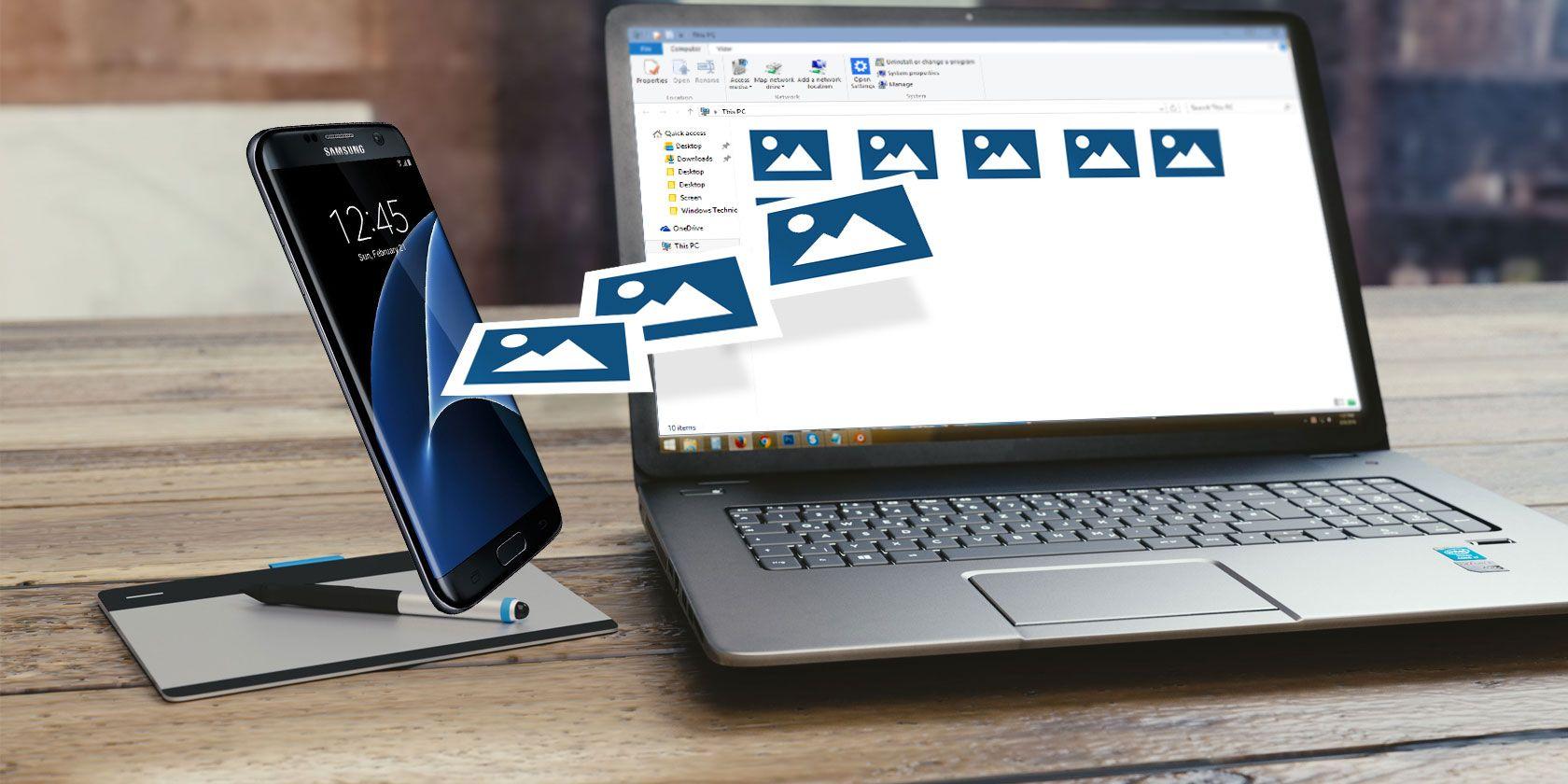 Transfer File Dari HP Ke Laptop Paling Mudah [Via WiFi]