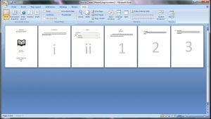 3 Cara Membuat Nomor Halaman Berbeda Di Word, Simpel!!!